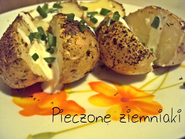 Kartofle pieczone w skórce z ziołami