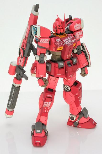 red warrior amazing gundam century