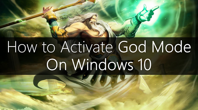 Window 10 mein God Mode Kaise Enable Karen