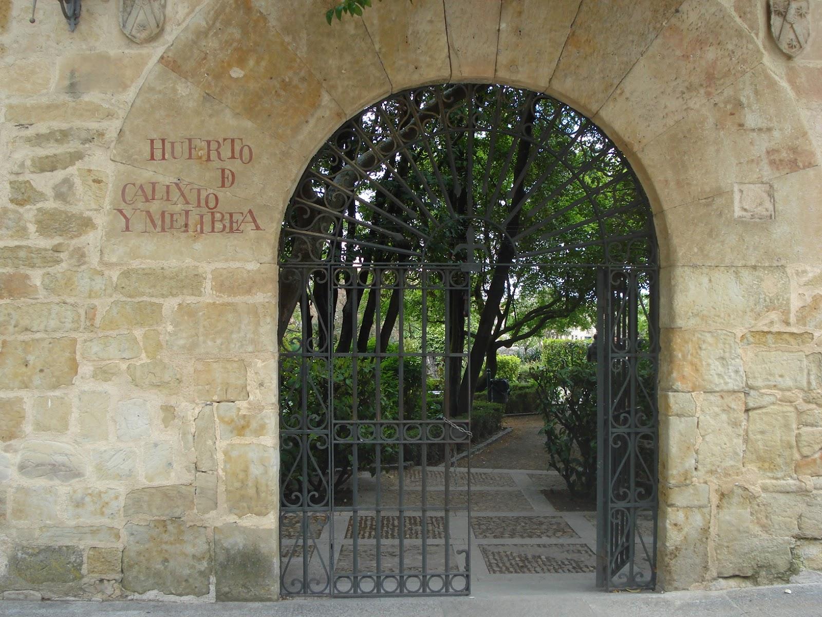 The legend of the garden of calixto y melibea spanish in spain t a tula spanish school in - Jardin de calisto y melibea salamanca ...