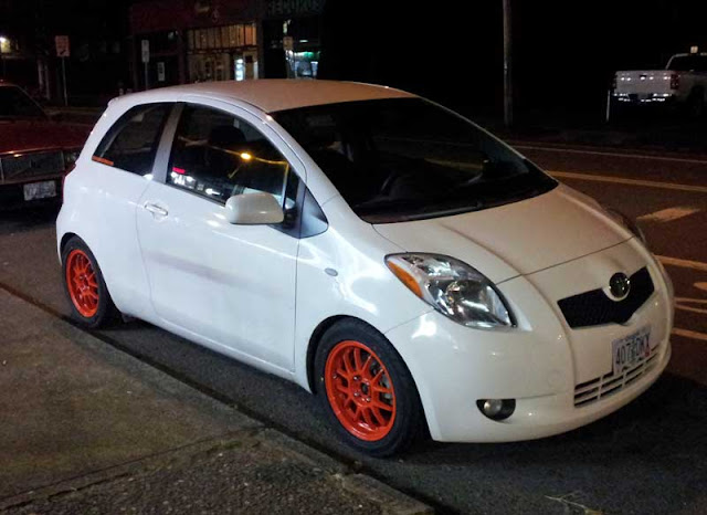 Konig Daylite wheels and Yokohama S.Drive tires on my 2007 Toyota Yaris