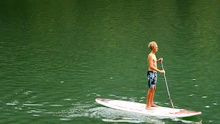 Aaron sur le Lunzer See / photo S. Mazars