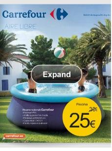 Catalogo carrefour oferta de piscinas verano 2013 for Piscinas online ofertas