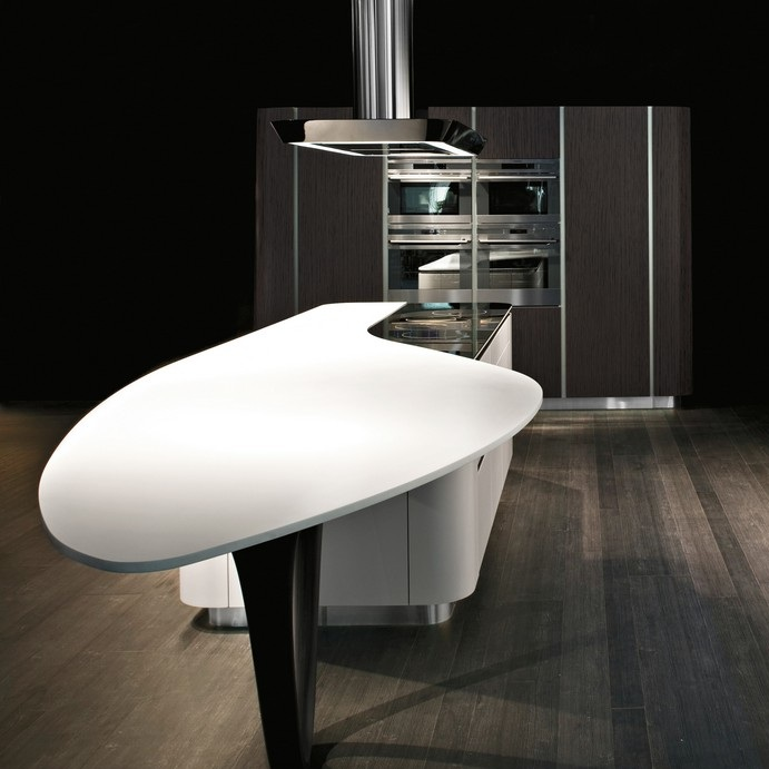 Furniture Interior Design: The kitchen Ola 20 of designer Pininfarina