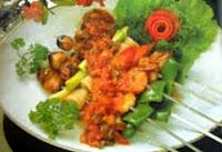 Resep Sate Seafood Pelangi