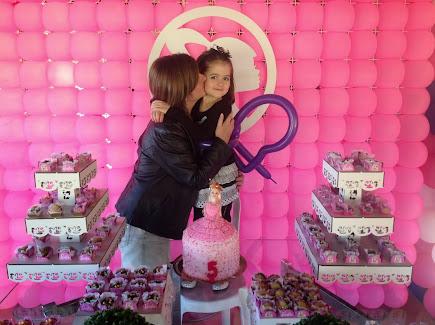 Festa da Barbie da Vivian