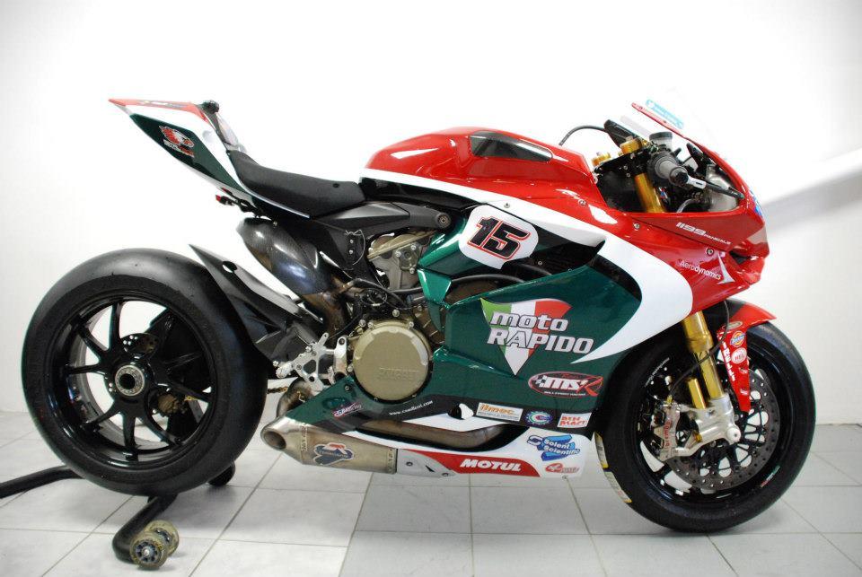 Moto Rapido Ducati Bsb