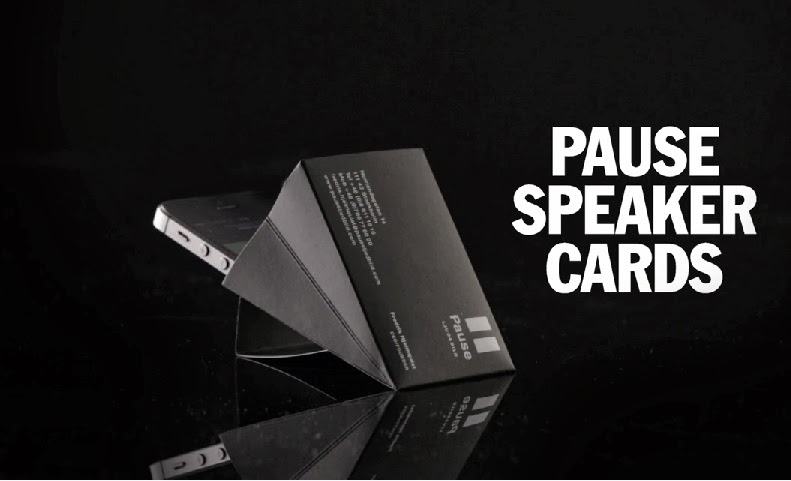 Pause Speaker Cards