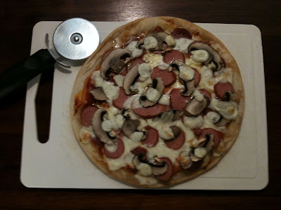 ds gluten free pizza with added toppings