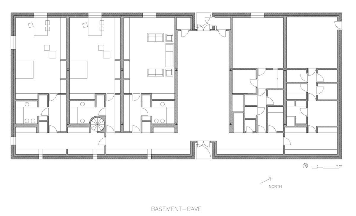 Simplicity love olnick spanu house new york alberto for Plan estudios arquitectura