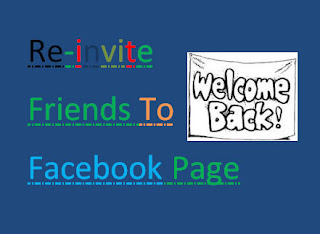 Re-invite All Friends To Facebook Page