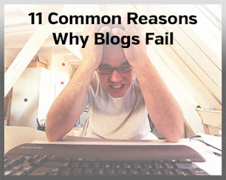 11 Reasons Why Your Blogs Doomed To Fail