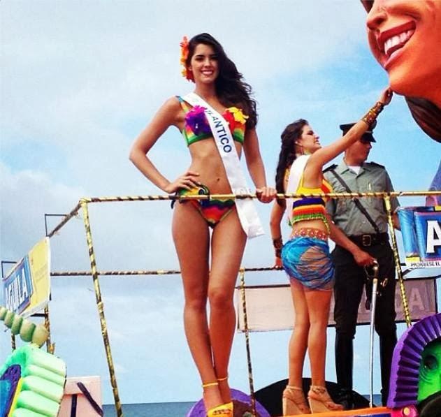 Miss universe colombia 2013 2014 paulina vega dieppa gowns recap