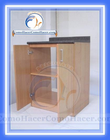 Muebles de cocina construcci n web del bricolaje dise o diy for Como armar una cocina integral