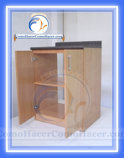 Muebles de cocina construcci n web del bricolaje dise o diy for Software para fabricar muebles de melamina