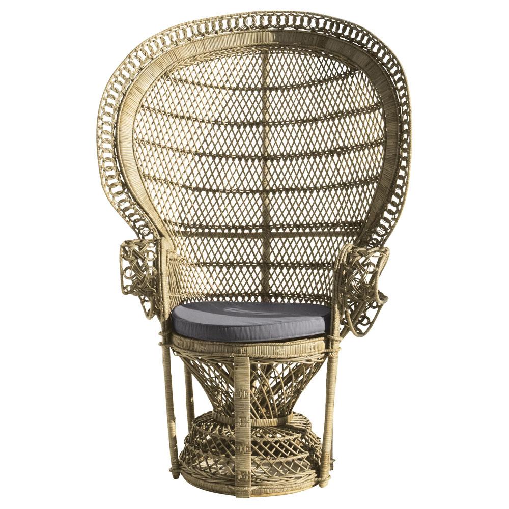Peacock chair cadeiras pav o sugar spice and - Butacas maison du monde ...