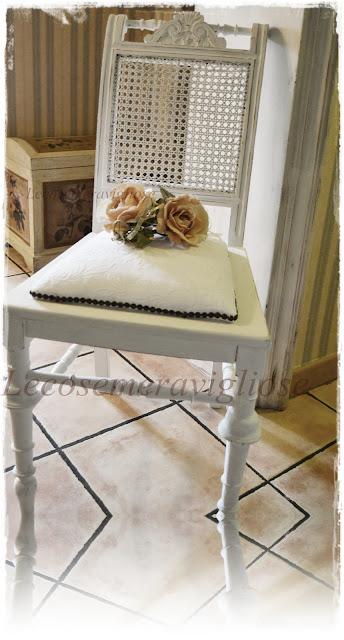 Lecosemeravigliose shabby e country chic passions luxury - Sostituire seduta sedia ...