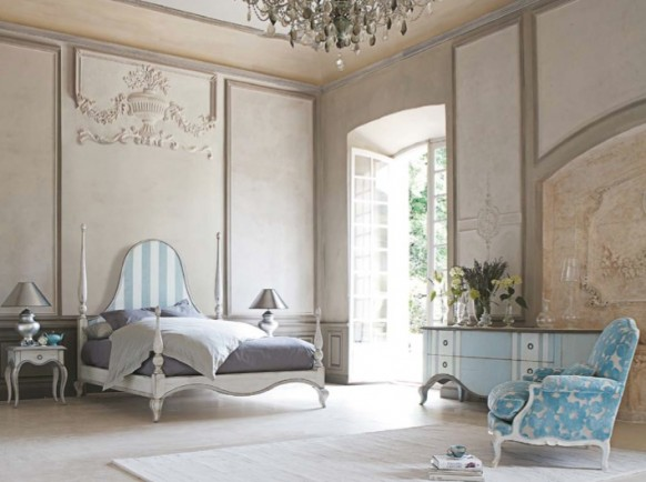Modern Rustic French Bedroom