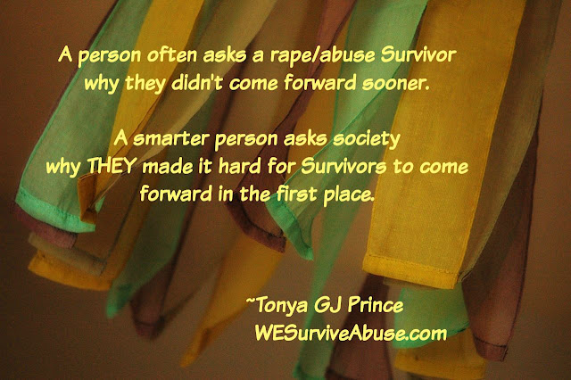 Why Does Society Make it Difficult for Survivors of Rape & Abuse to Come Forward? Part 1