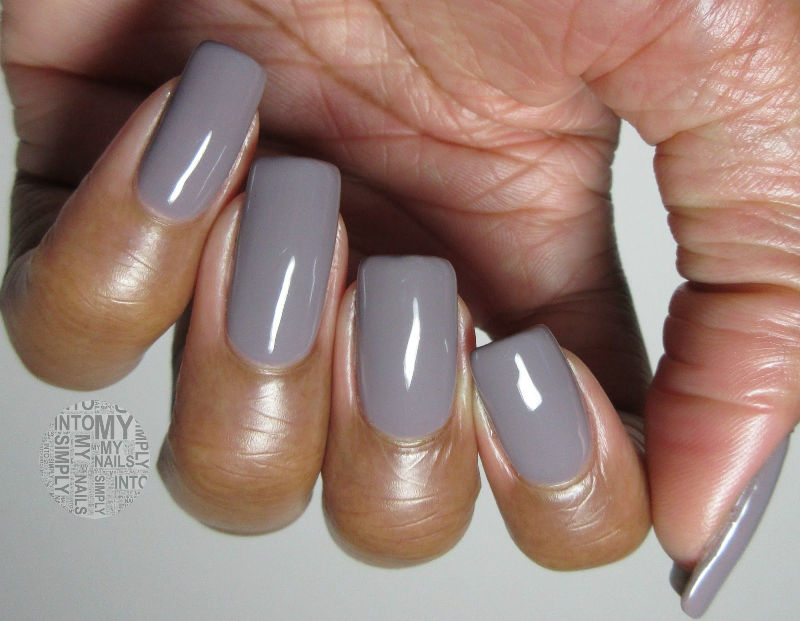 mini manicures ~ ibd just gel patchwork | simply into my nails