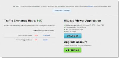 Hitleap - traffic exchange
