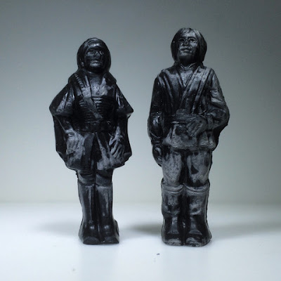 "Star Wars ""Relics"" Resin Figure Series 2 by HealeyMade - The Twins (Princess Leia & Luke Skywalker)"