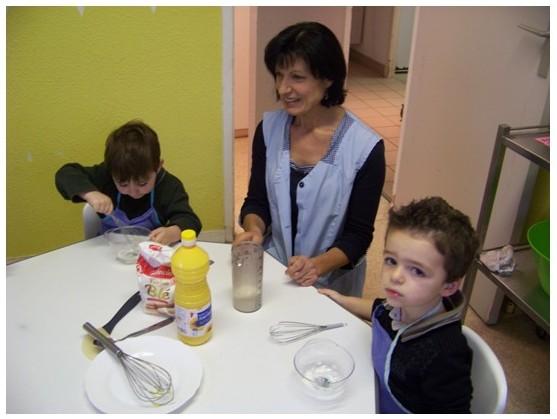 Cr che petit bouchon 22 d cembre 2011 atelier cuisine for Objectif atelier cuisine en creche