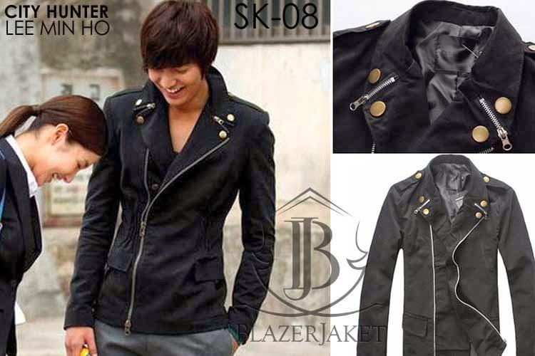 Korean Jacket Double Zipper blazerjaket.com