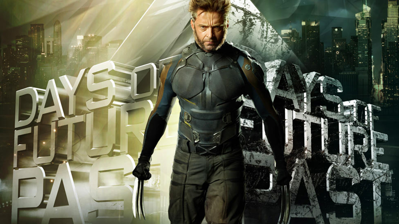 X Men Days Of Future Past Wallpaper Wolverine 1366X768
