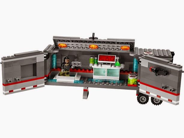 TOYS : JUGUETES - LEGO Tortugas Ninja  79116 Fuga en el Camión a través de la Nieve  Ninja Turtles - Big Rig Snow Getaway  Producto Oficial 2014 | Edad: 7-14 años
