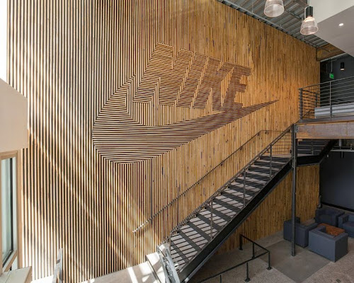 Nike Brand Walls by Fieldwork Design & Architecture