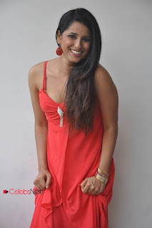Shravya Reddy Latest  Picture Gallery in Sleeveless Red Long Dress  0025.jpg