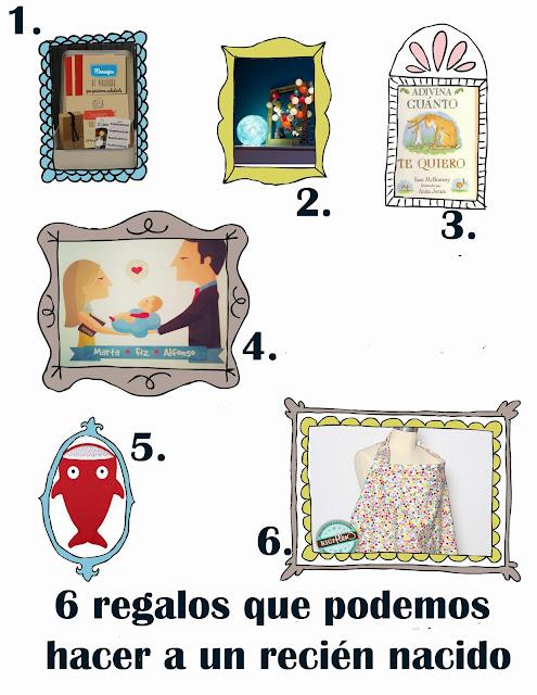 6 regalos para hacerle a un recién nacido originales