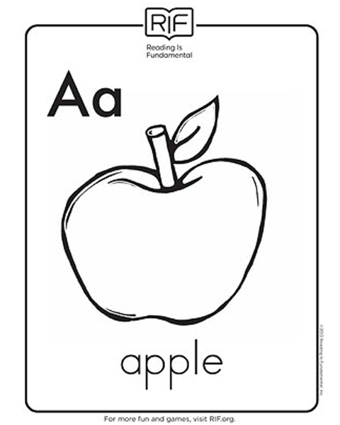 ABCs sheets to print and color