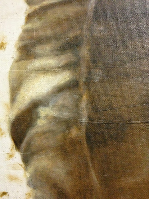 Oil Painting, Painting Detail
