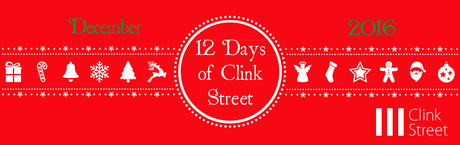 COMING SOON ~ 12 DAYS OF CLINK STREET CHRISTMAS