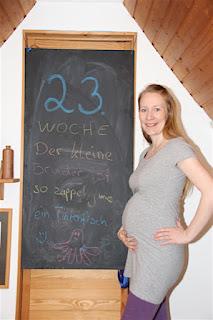 Bauchbild 23. Schwangerschaftswoche