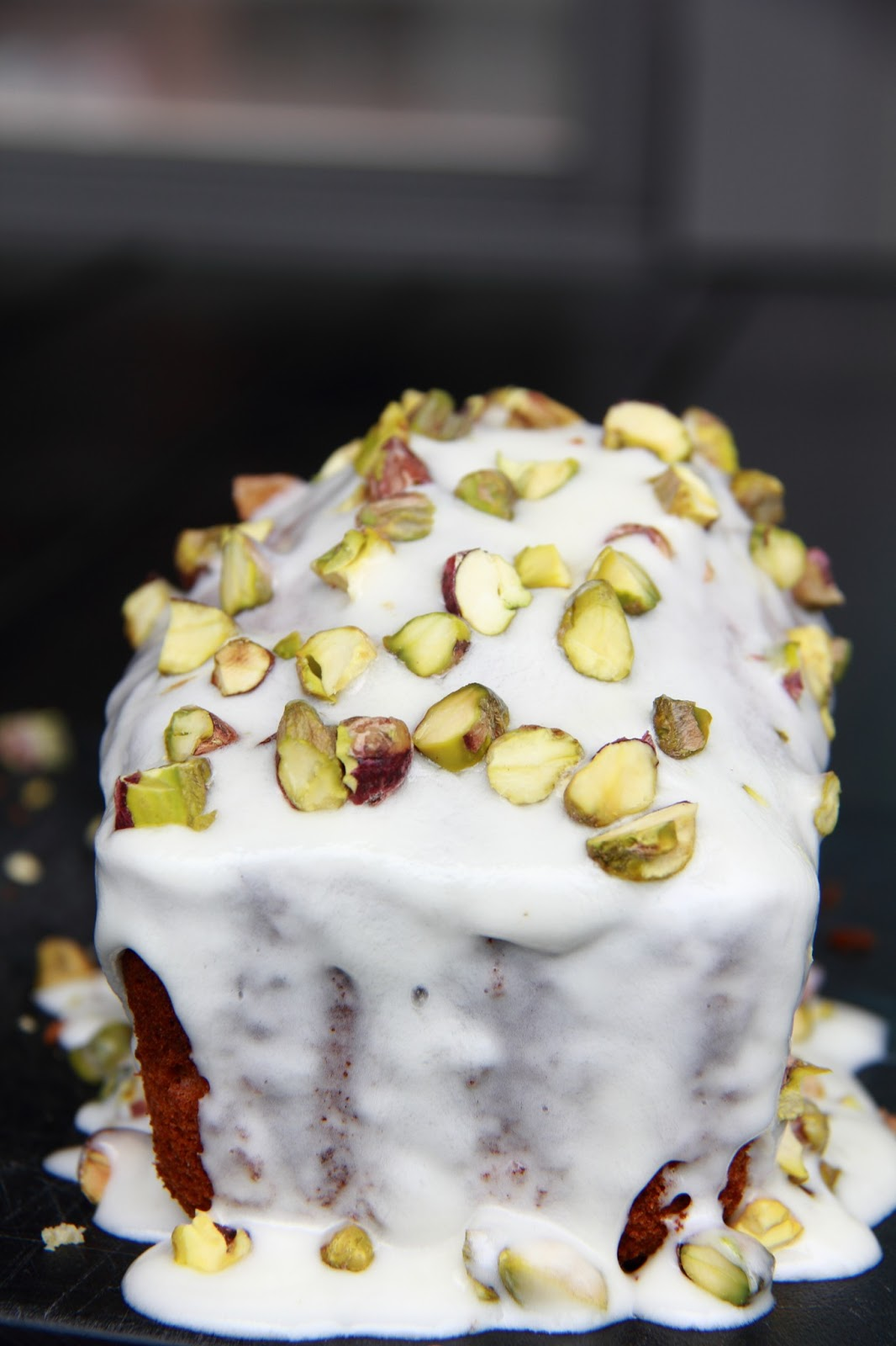 Little Accidents in the Kitchen }: Pistachio Pound Cake