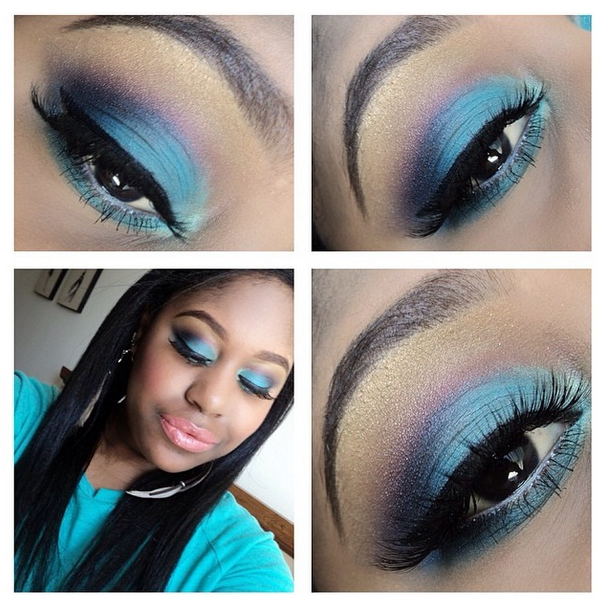 Bh Cosmetics eye look with mac cosmetics and lime crime