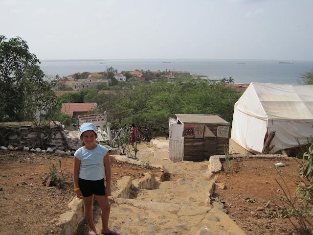 Isla de Gorée en Dakar, Senegal