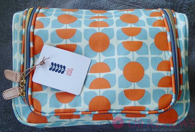 Orla Kiely square flower print large wash bag