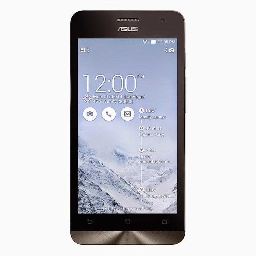 Harga Asus Zenfone 5 A500CG - 16GB - Putih