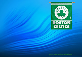 Boston Celtics desktop Wallpapers Celtics Flag in classic Water Ripple background