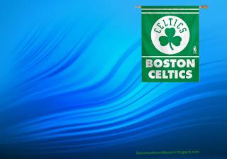 Boston Celtics desktop Wallpapers Celtics Flag in classic Water Ripple background