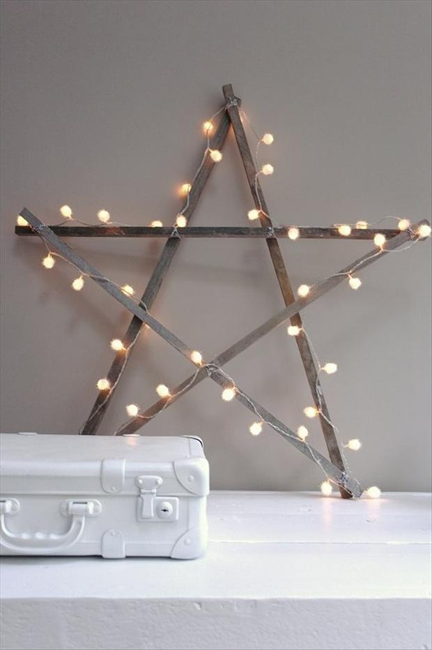 bright christmas star to make your house shine brightest - Homemade Christmas Star Decorations