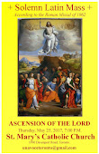 Ascension of the Lord Latin Mass