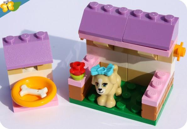 LEGO® Friends Animaux - Série 3 - Le chiot et sa niche
