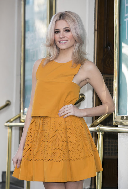 Actress, Singer, @ Pixie Lott - Breakfast At Tiffany's Photocall in London