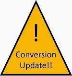 conversion update