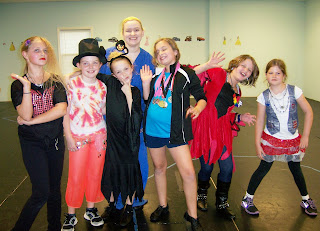 charlotte children's dance school halloween